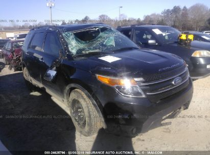 Salvage 2012 FORD EXPLORER for sale