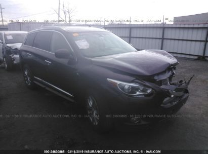 Salvage 2015 INFINITI QX60 for sale