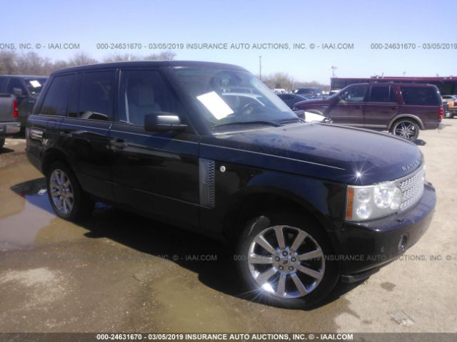 click here to view 2007 LAND ROVER RANGE ROVER at IBIDSAFELY