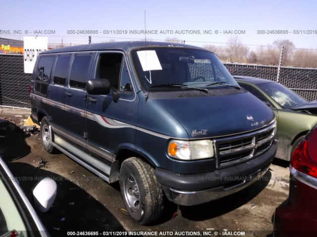 Salvage Title 1988 Dodge RAM VAN 5 2L For Sale in Bay Point
