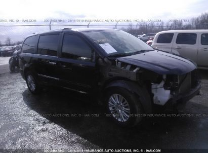 Salvage 2013 CHRYSLER TOWN & COUNTRY for sale