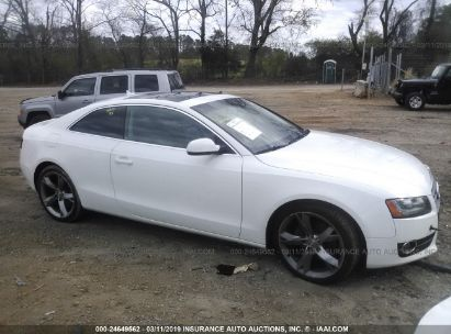 Salvage 2011 AUDI A5 for sale