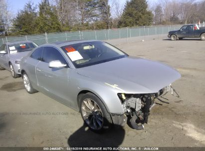 Salvage 2014 AUDI A5 for sale
