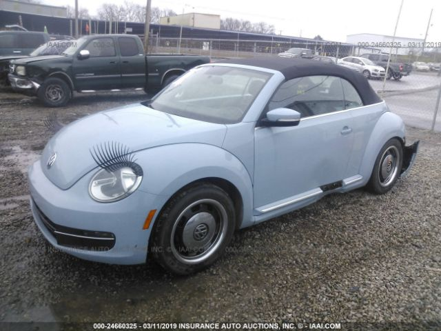 Salvage Title 2013 Volkswagen Beetle 2 5L For Sale in