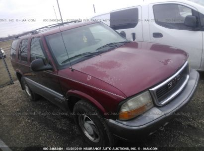 Salvage 1998 GMC JIMMY for sale