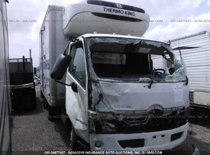 Salvage 2015 HINO 195 for sale