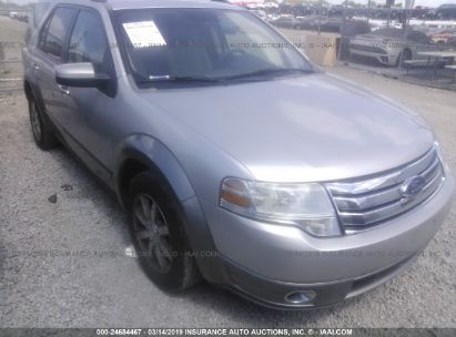 Salvage 2008 FORD TAURUS X for sale
