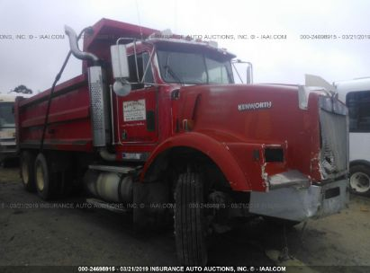 Salvage 1990 KENWORTH CONSTRUCTION for sale