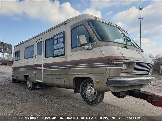 click here to view 1987 PACE ARROW MOTORHOME(CHEV P30) at IBIDSAFELY