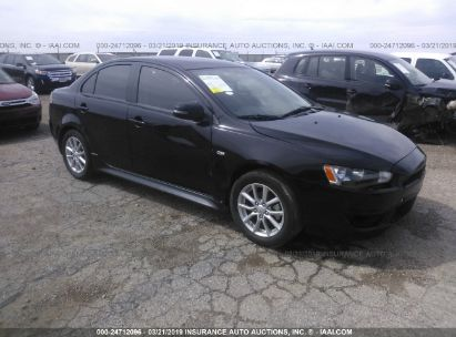 Salvage 2015 MITSUBISHI LANCER for sale