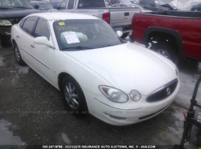 Salvage 2006 BUICK LACROSSE for sale