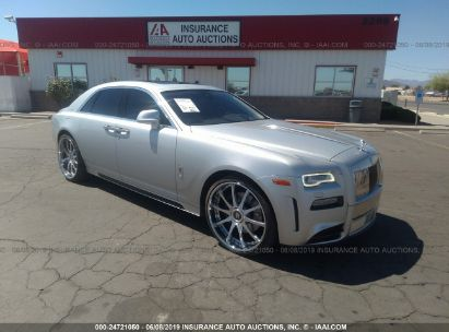 Salvage 2015 ROLLS-ROYCE GHOST for sale