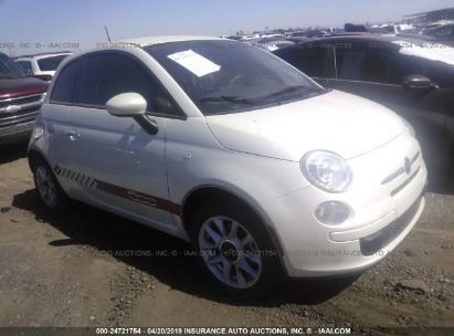 Salvage 2016 FIAT 500 for sale