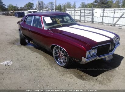 Salvage 1970 OLDSMOBILE CUTLASS for sale