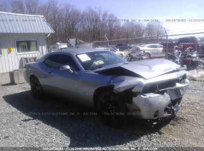 Salvage 2014 DODGE CHALLENGER for sale