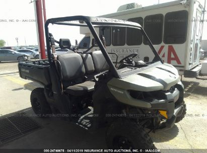 Salvage 2017 CAN-AM DEFENDER for sale