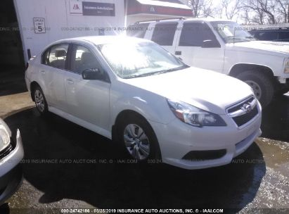 Salvage 2014 SUBARU LEGACY for sale