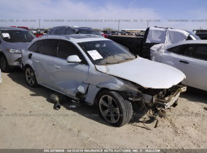 Salvage 2013 AUDI A4 ALLROAD for sale