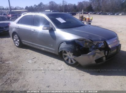 Salvage 2008 LINCOLN MKZ for sale