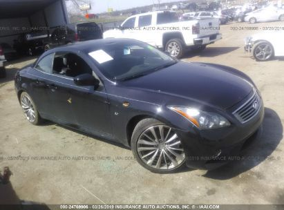 Salvage 2015 INFINITI Q60 for sale