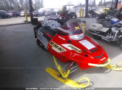 Salvage 2002 POLARIS INDY 700 RMK for sale