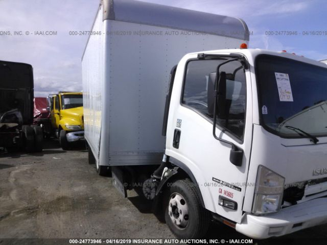 Salvage Title 2014 Isuzu NPR HD 5 2L For Sale in Bay Point CA