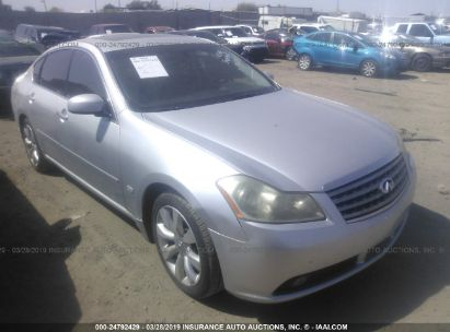 Salvage 2007 INFINITI M35 for sale