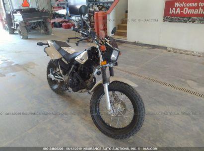 Salvage 2018 YAMAHA TW200 for sale