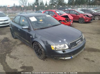 Salvage 2004 AUDI A4 for sale