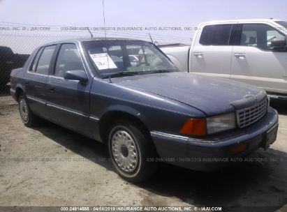 Salvage 1994 PLYMOUTH ACCLAIM for sale