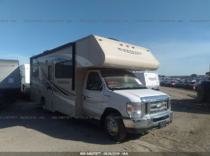 Salvage 2018 WINNEBAGO FORD CLASS C 350 for sale