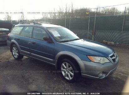 Salvage 2009 SUBARU OUTBACK for sale