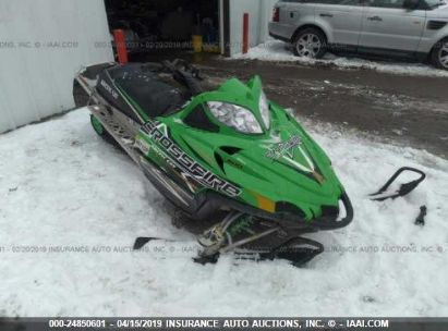 Salvage 2010 ARCTIC CAT CROSSFIRE for sale