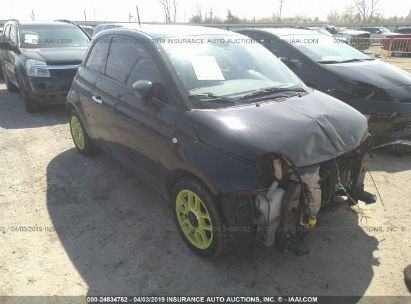 Salvage 2015 FIAT 500 for sale