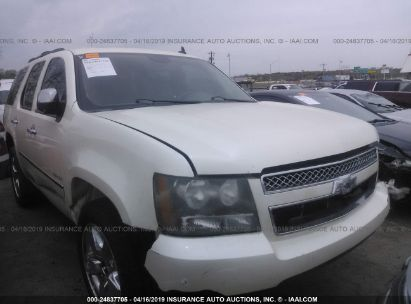 Salvage 2010 CHEVROLET TAHOE for sale