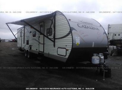 Salvage 2015 COACHMEN 35FT for sale