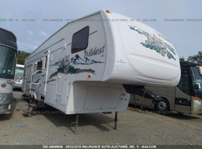 Salvage 2006 WILDCAT TRAVEL TRAILER for sale