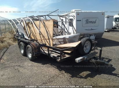 Salvage 2014 TOP HAT INDUSTRIES INC UTILITY for sale