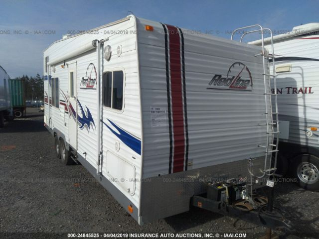 click here to view 2007 FLEETWOOD REDLINE TOY HAULLER at IBIDSAFELY