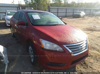 Salvage 2014 NISSAN SENTRA for sale