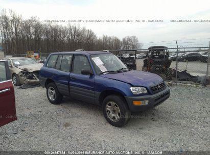 Salvage 1998 TOYOTA RAV4 for sale