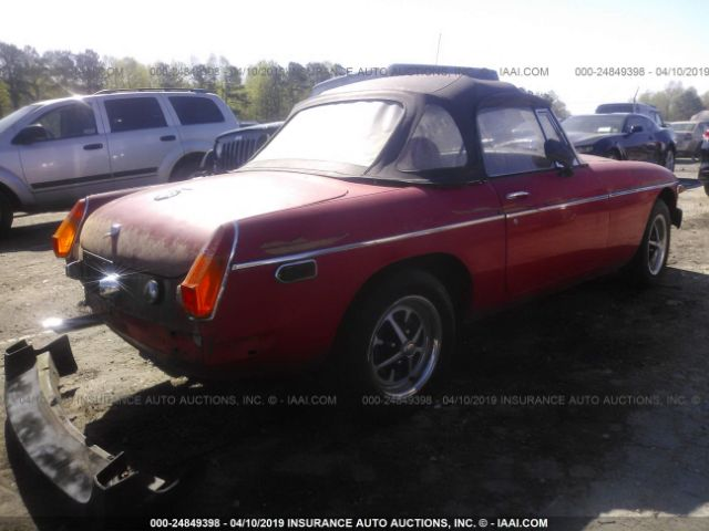 Salvage Title 1975 MG MGB For Sale in Clayton NC - 24849398