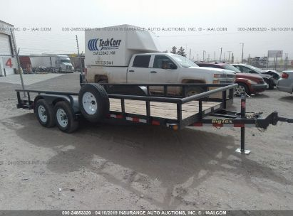 Salvage 2018 BIG TEX TRAILER for sale