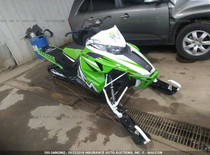 Salvage 2016 ARCTIC CAT SNOWMOBILE for sale