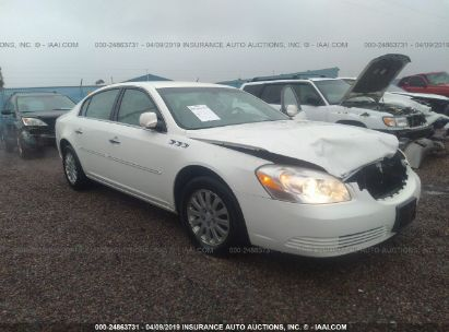 Salvage 2007 BUICK LUCERNE for sale
