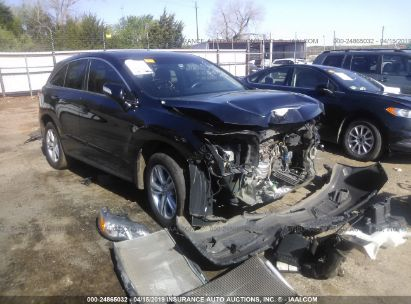Salvage 2013 ACURA RDX for sale