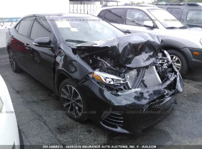 Salvage 2018 TOYOTA COROLLA for sale