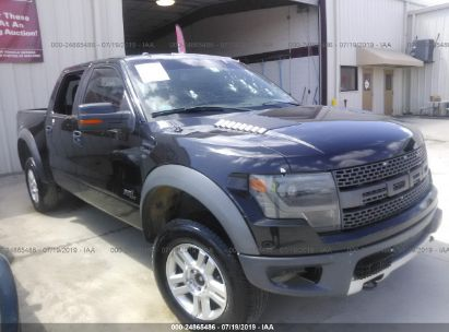 Salvage 2014 FORD F150 for sale