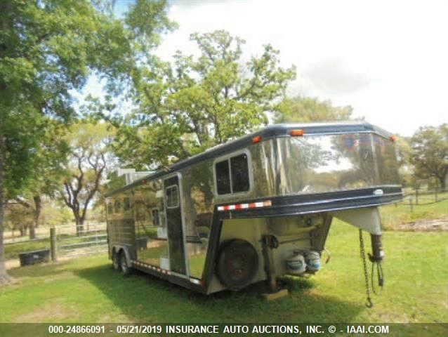 click here to view 1999 BARRETT TRAILERS INC HORSE TRAILER at IBIDSAFELY