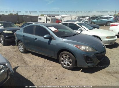 Salvage 2011 MAZDA 3 for sale